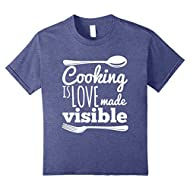 Cooking Is Love Chef Foodie T-Shirt Cute Birthday Gift