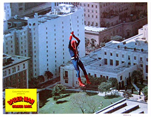 Spider-Man Strikes Back 1978 Authentic, Original VINTAGE Marvel production 11×14 Lobby Card #2