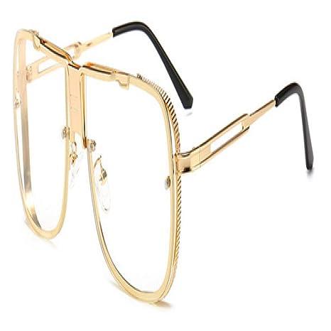 Yangjing-hl Moda Hombre Gafas de Sol cuadradas Diseñador de ...