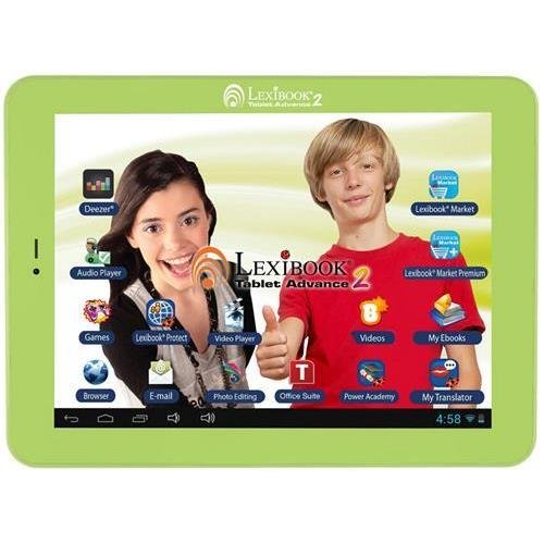 Lexibook Kids Tablet Advance 2 - Lexibook Cloud - Office Suite - 12,000 Apps - Multimedia - Skill Learning - 15 Languages App - MFC181EN by Generic