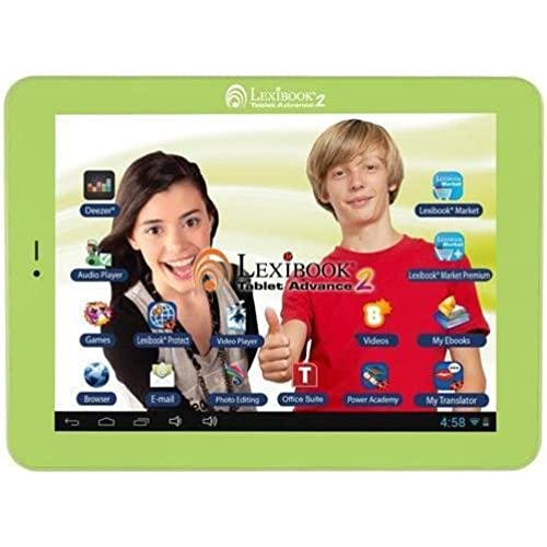 Lexibook Kids Tablet Advance 2 - Lexibook Cloud - Office Suite - 12,000 Apps - Multimedia - Skill Learning - 15 Coupons