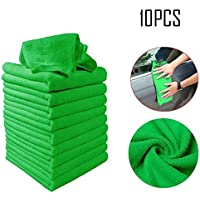10-Pieces Xanam Multi-Functional Car Cleaning Towels