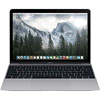 "Apple MacBook 12"" Retina Gris Portátil 30.5 cm (12"") 2304 x 1440 Pixeles 1.2 GHz Intel® Core™ M - Ordenador portátil (Intel® Core™ M, 1.2 GHz, 30.5 cm (12""), 2304 x 1440 Pixeles, 8 GB, 512 GB)"