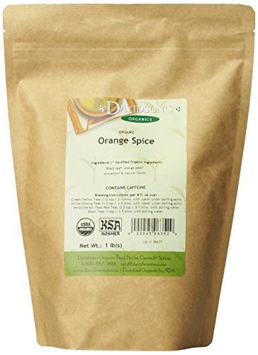 (Davidson's Tea Bulk, Orange Spice, 16-Ounce Bag)