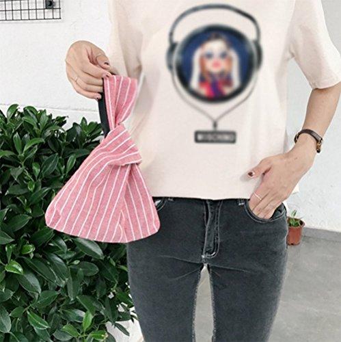 Running Sacks Storage Purse Women Card Holder Wrist Foldable Rucksacks Tote Clutch Credit Wallet Pouch Bag Handbag Bag Red Carry Small Money LAAT np6gq0
