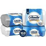 Cottonelle FreshCare Flushable Wipes Refill Tub, 42...