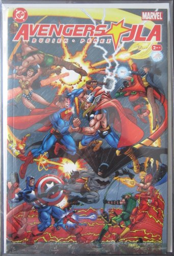 Avengers & JLA Issue #2 0f 4