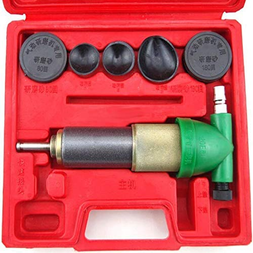 Mrcartool Auto Tuning Tools,Pneumatic Valve Grinder Engine Polish Burnish Machine Lapping Kit