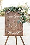 Wood Wedding Welcome Sign | Welcome Wedding Sign | Wooden Welcome Sign | Wedding Welcome Sign