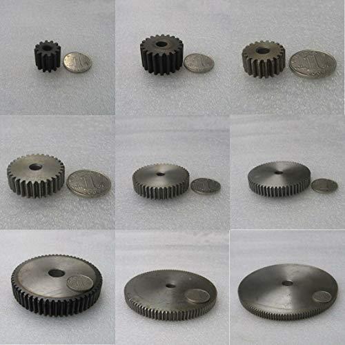 2Mod 14T Spur Pinion Gear 45# Steel Motor Gear Thickness 20mm x 1Pcs (2M14T) ()