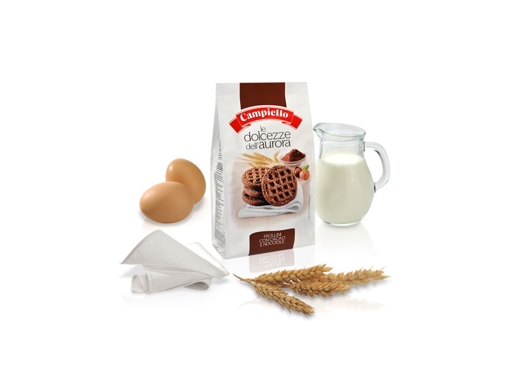 Le Dolcezze dell'Aurora with Cocoa and Nuts 12.35 oz (pack of 2)