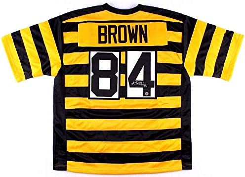 3fead9ab2 Antonio Brown Autographed Signed Pittsburgh Steelers Jersey Memorabilia -  JSA Authentic