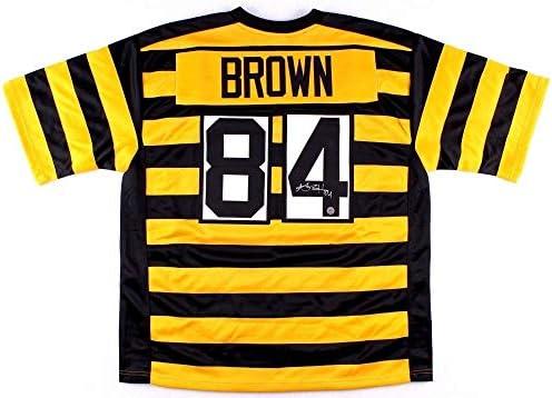 1c75765b2 Antonio Brown Autographed Signed Pittsburgh Steelers Jersey Memorabilia - JSA  Authentic
