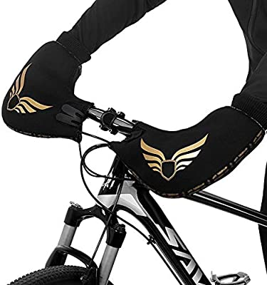 Winter Cycling Gloves Road Bike Bar Handlebar Thick Warm Mittens Mitts Windproof