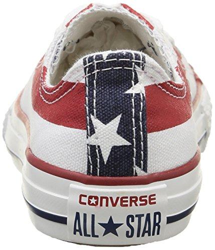 Ox A2 Adulto amp;bars All Converse Unisex Sportive Canvas stars Scarpe Star Multicolore pIqExIPwC4