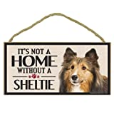 Imagine This Wood Sign for Sheltie Dog Breeds