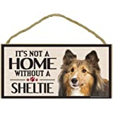 Imagine This Wood Sign for Sheltie Dog Breeds