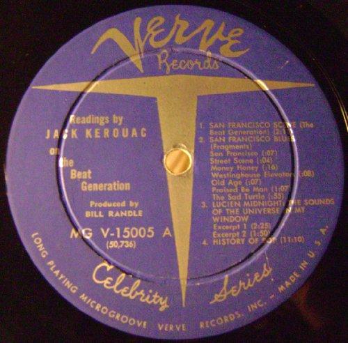 Price comparison product image Jack Kerouac - Readings on the Beat Generation LP