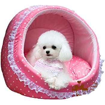 Amazon.com : Colorfulhouse Princess House Pet Bed Lovely