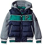 US Polo Association Big Boys' Fashion Outerwear Jacket, UB43-Vest-Classic Navy, 8
