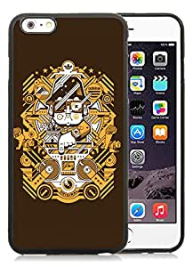 Fashionable And Durable Custom Designed Cover Case For iPhone 6 Plus 5.5 Inch With Adidas 16 Black Phone Case