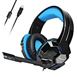 Best Headset For Dragons - USB Gaming Headset, TeckNet Wired 7.1 Channel Surround Review