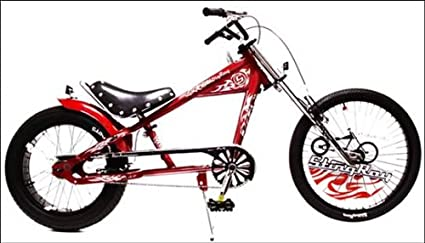 58b9dca2ae7 Image Unavailable. Image not available for. Color: Schwinn Stingray 20-Inch Chopper  Bike (Gloss Red)