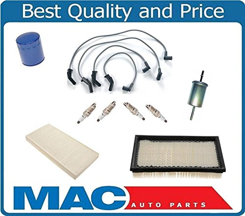 Air Filter Spark Plugs Ing Wires Gas Cabin Filter Fits For Ford FOCUS 00-04 Vin P SOHC