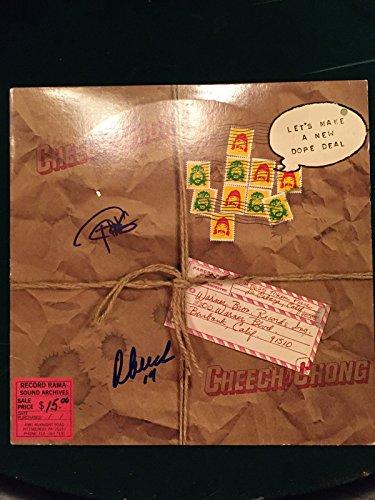 Cheech Chong Signed Autographed Album Disc JSA Authentic