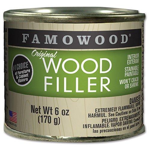 FamoWood 36141124 Original Wood Filler - 1/4 Pint, Maple