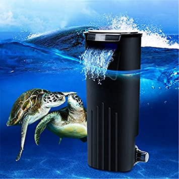 Bazaar Bajo el agua dulce interna colgar en tortuga peces filtro de la energía tanque de reptil del acuario: Amazon.es: Hogar