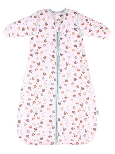 Saco de dormir para bebé Slumbersac con Mangas Largas REMOVIBLES - Búho, 2.5 Tog, 3-6 años: Amazon.es: Bebé