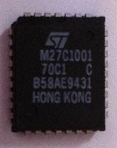 M27C1001-70C1 EPROM OTP 1M-Bit 128K x 8 70ns 32-Pin PLCC