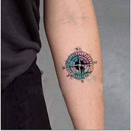 ruofengpuzi Adesivo tatuaggioImpermeable Tatuaje Temporal Etiqueta ...