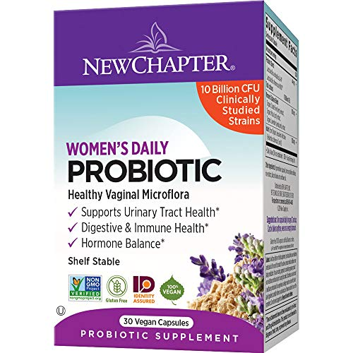 Women's Daily Probiotic New Chapter 30 VCaps