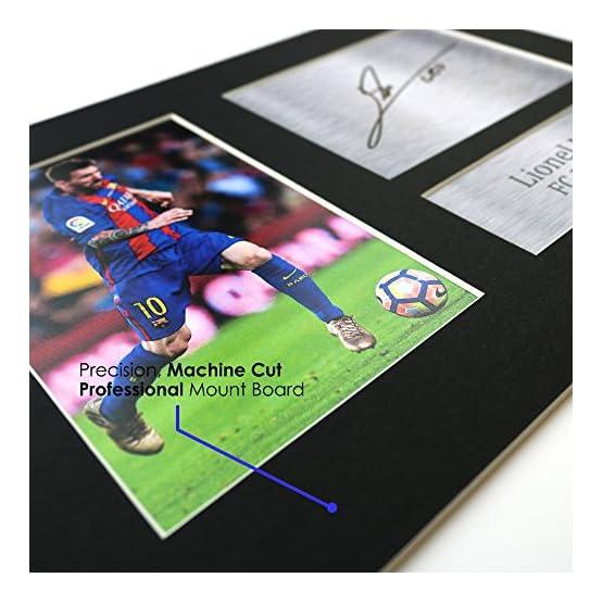 Neymar Jr Les Cadeaux Ont Signé A4 L'Autographe Imprimé PSG Affichage d'image de Photo D'Empreinte