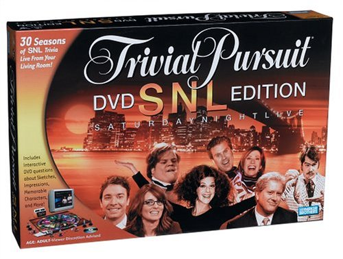 (Trivial Pursuit: SNL Saturday Night Live DVD Edition Game(For ADULT) )
