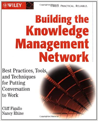 Book Building the Knowledge Management Network: Best Practices, Tools, and Techniques for Putting Conversation to Work