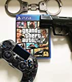 Wireless Controller for PS4, Black Skull Series