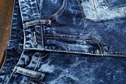 Manera Pantalón Lavado Mezclilla Azul Vendimia fashion De Cómodos HX Recto Pantalones La De Blau Tramo Casuales La Algodón Ropa De Jeans Jeans Pantalones Tamaños para Hombres Delgado P6BcYRHfqB