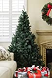 Brand New 6' ft Premium Artificial Christmas Pine Tree With Solid Metal Legs Full 1000 Tips Tree