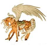 Nene Thomas PHOENIX GOLD Carousel Horse Fantasy Couture Figurine Ornament