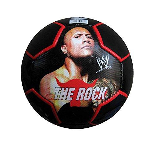 Simba Toys The Rock Soccer Ball, Size 5  Black