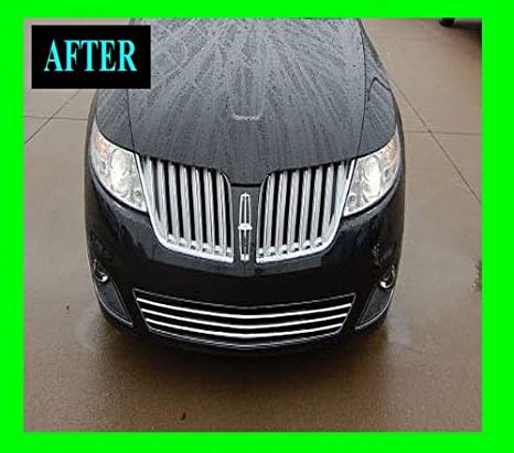 Amazon Com 2009 2010 Lincoln Mks Chrome Grille Grill Kit 09 10