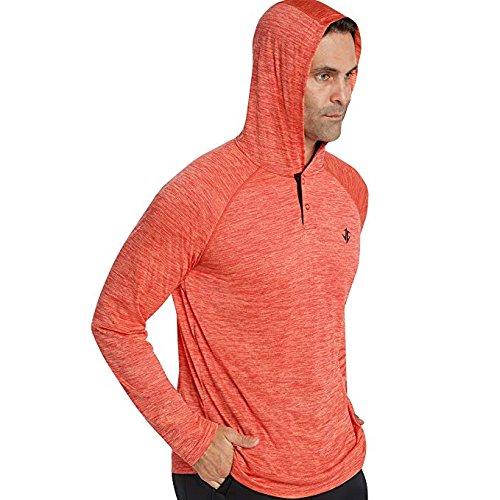 Jolt Gear Mens Hoodies Pullover - Long Sleeve Casual Hoodie Men - Lightweight Thin Hooded Sweater T Shirt