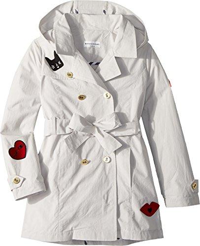 Sonia Rykiel Kids Girl's Alara Trench Coat w/Patch Detail (Big Kids) Sand 8 Years by Sonia Rykiel Kids