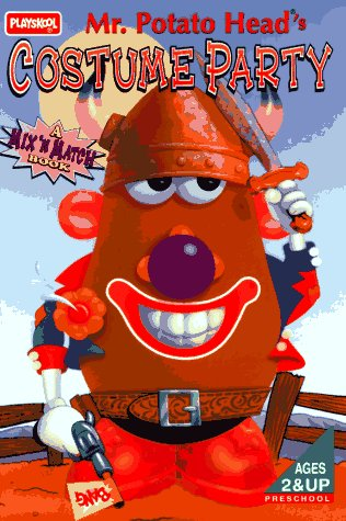 City Head Costume Party Potato (Mr. Potato Head's Costume Party: A Mix 'N Match Book)