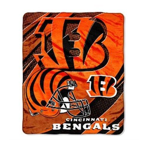 Throw Blanket Micro 50x60 Raschel (NFL Cincinnati Bengals 50