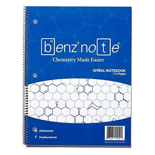 Benznote Cuaderno 112 Hojas Para Quimica Organica Xsr