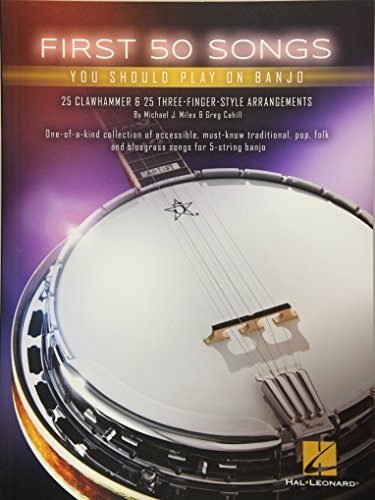 Ultimate Banjo Songbook - First 50 Songs You Should Play on Banjo